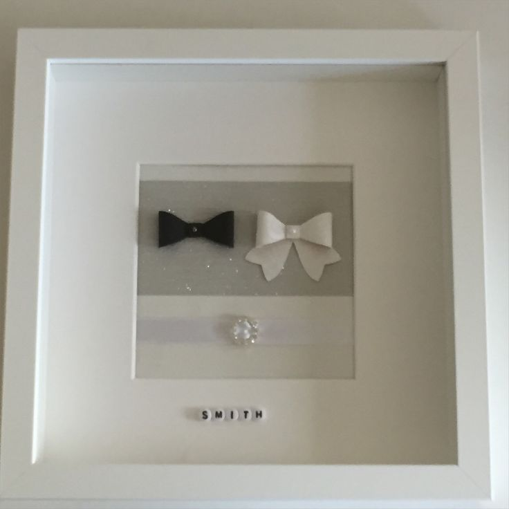 Mr and Mrs 'Bow Ties & Bows'