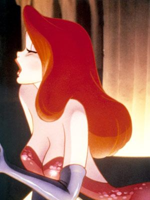 "Jessica Rabbit. Esquire said  ""Betty Boop didn't even come close."""