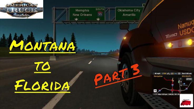 Coast to Coast Rescale Mod Series | MT to FL | Pt 3 | American Truck Simulator (ATS)