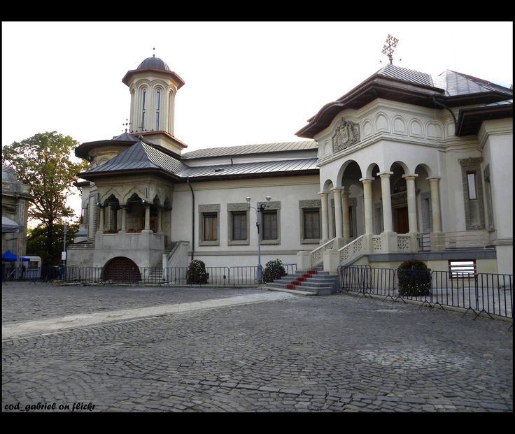 #Bucharest, The Patriarchy Ensemble  The Romanian Orthodox Patriarchal Cathedral is a functioning religious and civic landmark, on Dealul Mitropoliei, in Bucharest,Romania. The structure was begun in 1654 and completed in 1658. The facade is in the Brâncovenesc style.