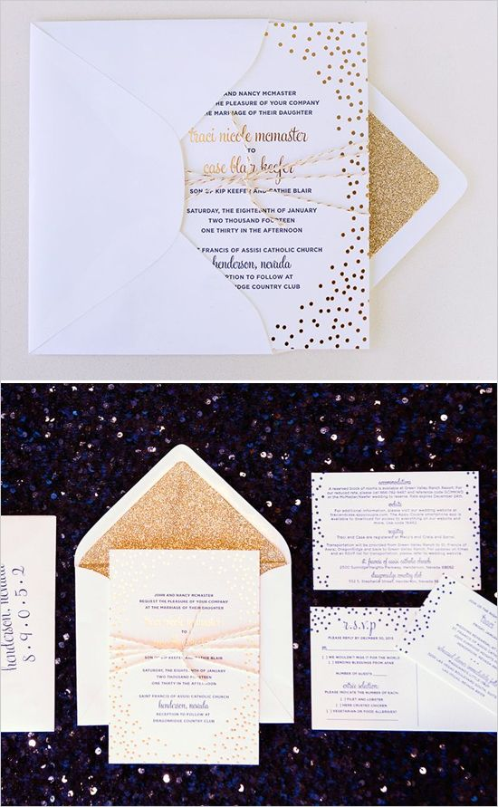 ideas for country wedding invitations%0A Blue And Pink Las Vegas Wedding