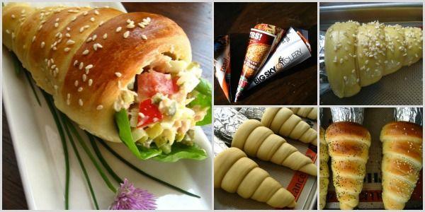 How to Make Cute Bread Cones