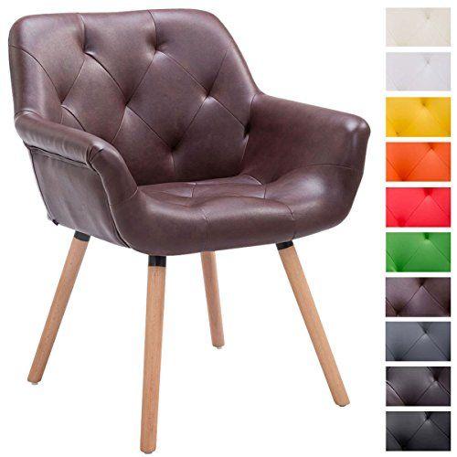 silla para visitas CASSIDY - elegancia confortable con look de moda! Esta silla para visitas confiere una elegancia moderna a cada sala! No des