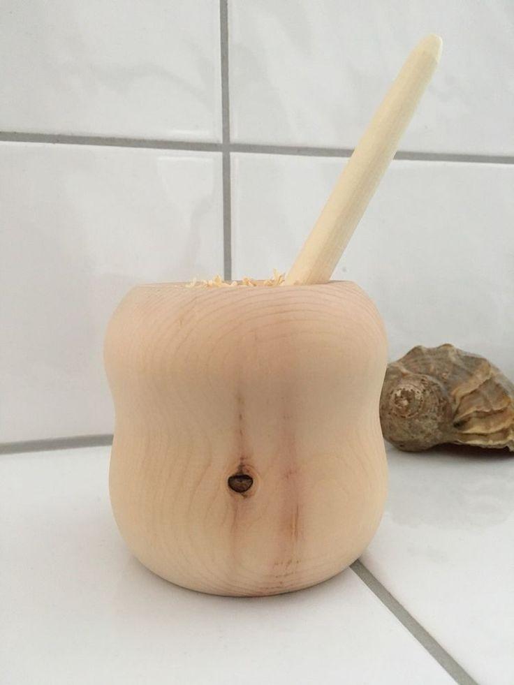 HANDARBEIT! Duftspender Aus Zirbenholz, Herrlicher Duft Der Zirbe Einzelstück,  | eBay