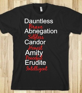 Divergent Factions - Book Nerd - Skreened T-shirts, Organic Shirts, Hoodies, Kids Tees, Baby One-Pieces and Tote Bags