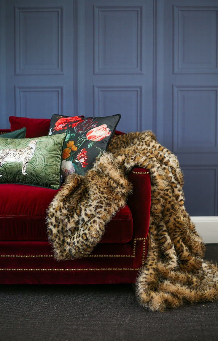 4 Autumn Trends For an Instant Interiors Update | Red velvet ...