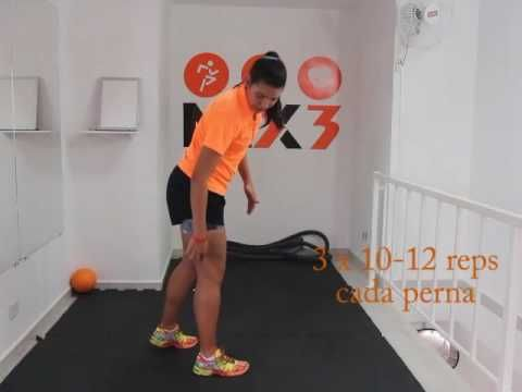 Mix 3 Treinamento Funcional em casa: fortalecimento para joelho. Parte 2