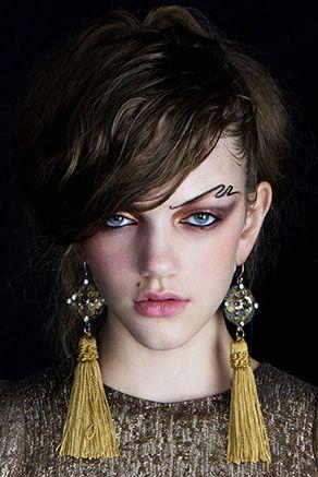 Photography - Elizabeth Kinnaird  Hair and make up - Merton Muaremi  Stylist - Melissa Nixon  Model - Marliena @ Chadwicks Models