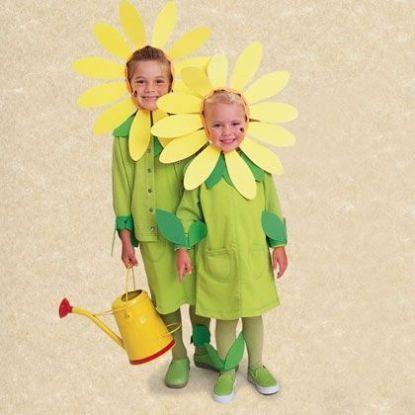 Elegir disfraces de primavera para niños