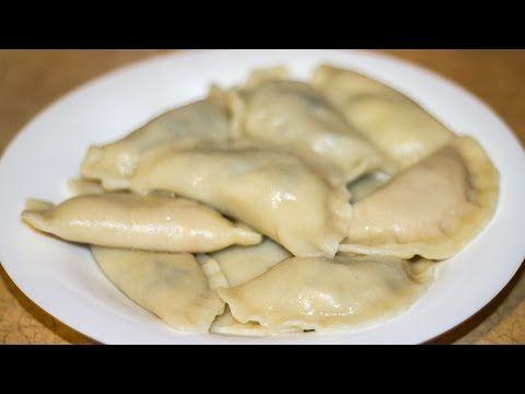 Вареники с картошкой и грибами и вареники с тыквой (постные) - YouTube