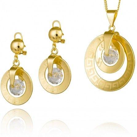 Prawda, że uroczy? :) #Marco #Diamanti #biżuteria #komplet #złoto