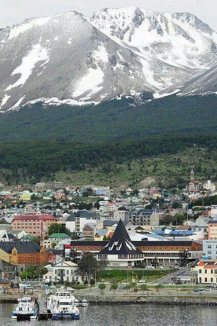Ushuaia, Tierra del Fuego-Argentina