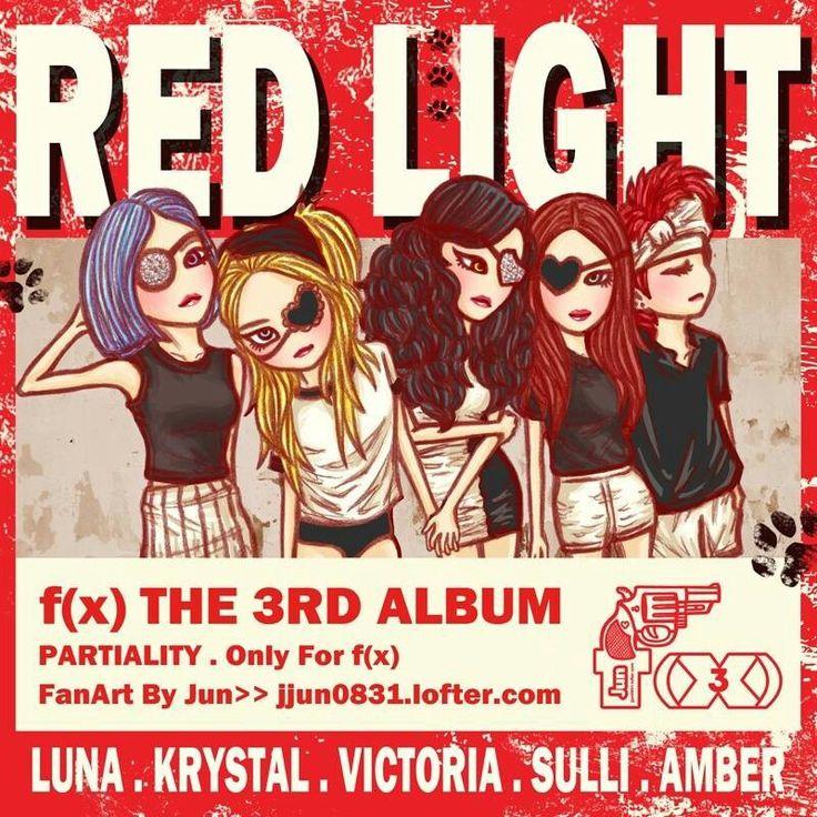#redlight f(x) | VIC FAN ARTS | Pinterest | F(x)