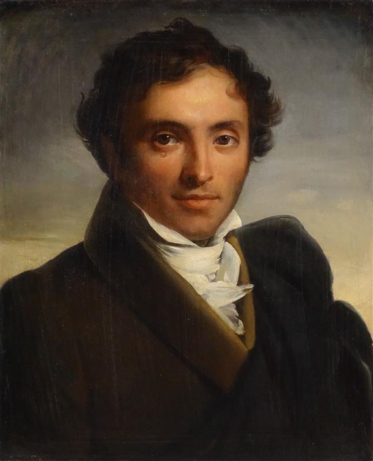 Ecole Francaise Vers 1830 Entourage De Francois Marius Granet