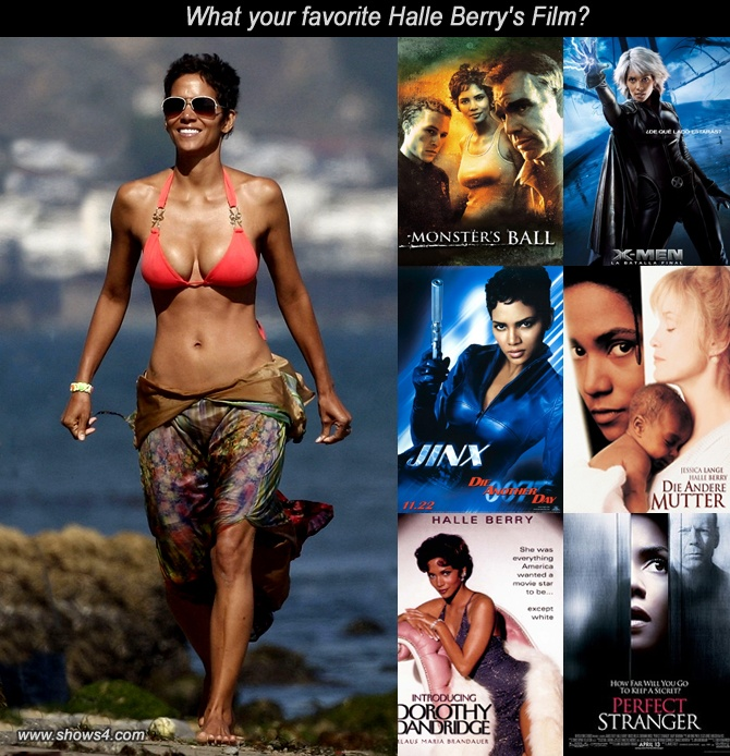 What your favorite Halle Berry's Film?
