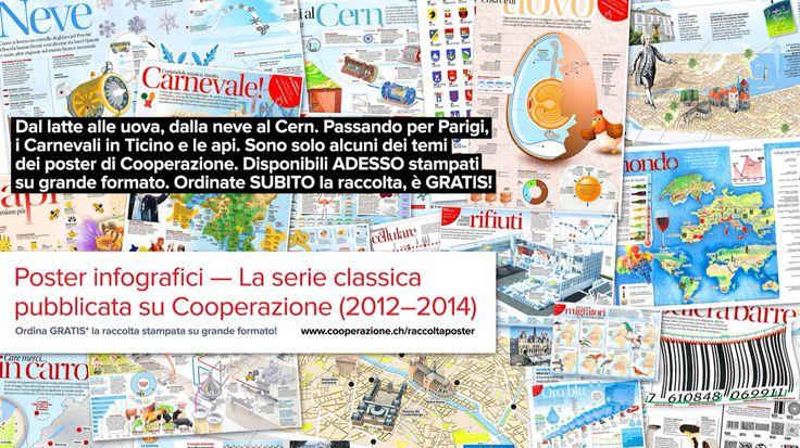 Ordinate la raccolta dei poster infografici riprodotti su GRANDE formato! È GRATIS!!! Cliccate www.cooperazione.ch/raccoltaposter