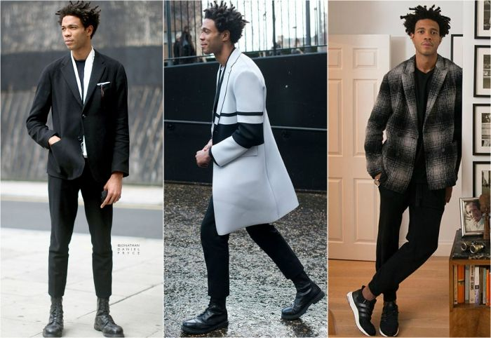 Mens style icons Charlie Casely-Hayford