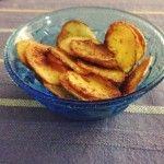 Chips di patate al forno  http://blog.giallozafferano.it/meligaomais/chips-patate-al-forno/