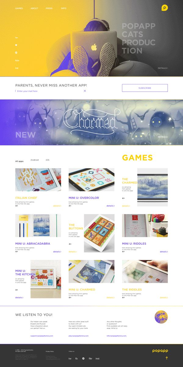 Popapp web on Web Design Served
