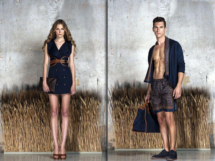 Theros lookbook // photo © Yiorgos Kaplanidis // Fashion editor: Manos Jojos // Make up artist: Christina Agatha // Hair stylist: Dimitris Sarantou // Models: Idan - vn models, Kelvin - d models // Graphic Design : Angelo Pantelidis