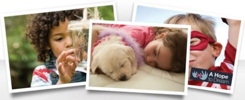 Ashley Furniture bed donation program; provide everything from the bed and bed frame, to the mattress and bedding for kids