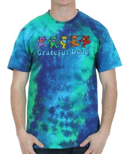 Grateful Dead Dancing Bear T-Shirt  #GratefulDead #dancing  #bear #colourful #tshirt