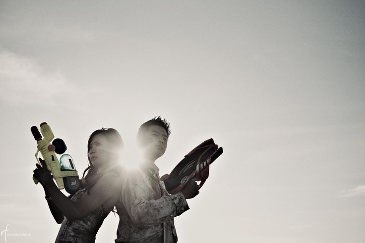 Nerf gun engagement picture :) wanna do this!!