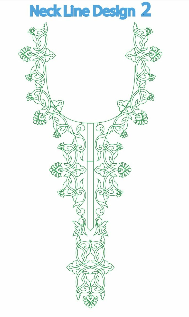 Embroidery Design Illustration