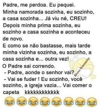 Imagem e Frases Facebook: As mais Engraçadas Aqui.: Padre me Perdoa - piada curta
