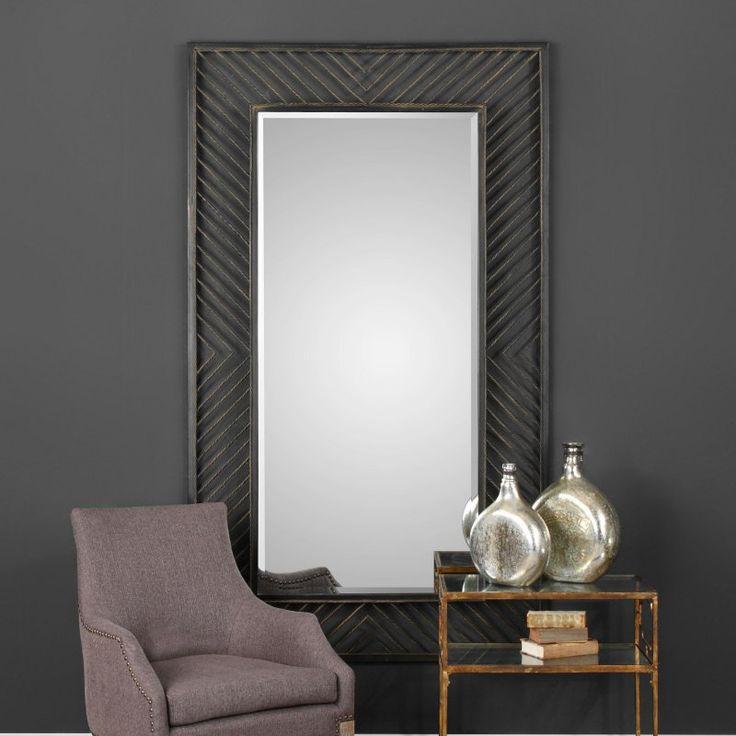 Uttermost Karel Chevron Mirror - 09245