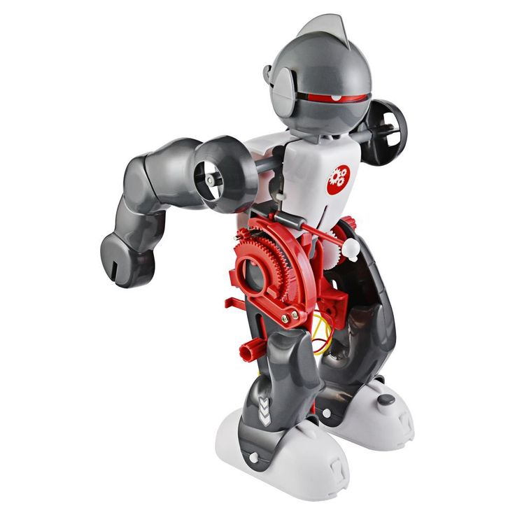 This tough little robot is easy to build in less than an hour, and just one motor powers three complex motions.
