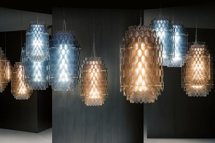 doriana + massimiliano fuksas layer chantal light for slamp