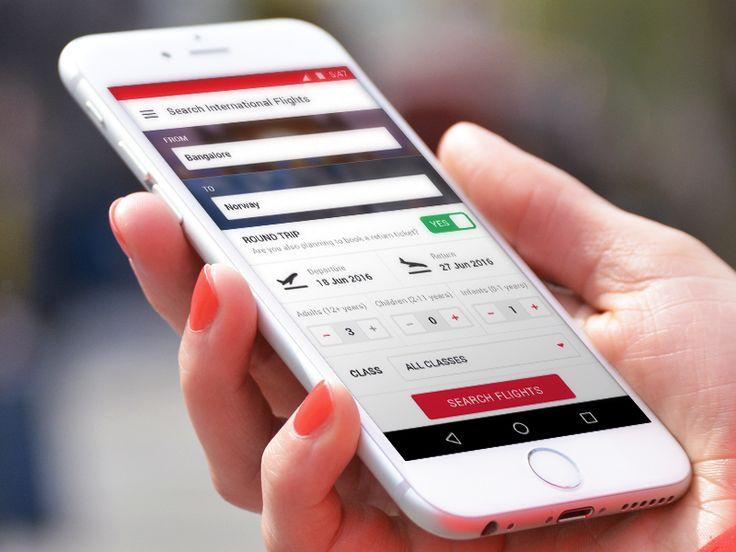 Flight Booking - Mobile App