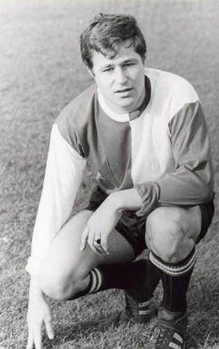 Rinus Israël, contractspeler van Feyenoord van 1966-1974.