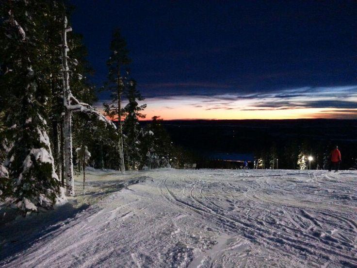 Uuden vuoden 2015 ensimmäinen sunset