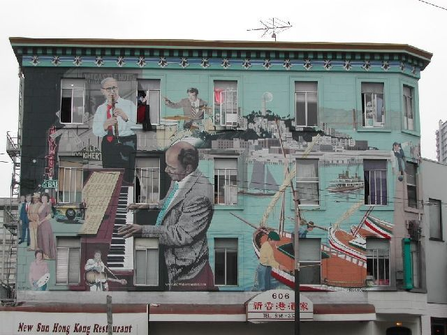 17 best images about transformative murals on pinterest for Mural on building