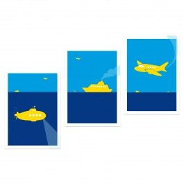 "Held&Lykke Postkarten ""TrafficMail"" #heldundlykke #selekkt"
