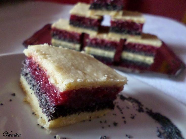 Süss Vanilinnel!: Meggyes-mákos pite