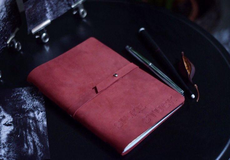 Кожаный блокнот со сменными блоками на ремешке Traveler`s Notebook А5