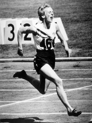 Betty Cuthbert - Only 18 years old, the shy Sydney-sider handled the intense home pressure, to take 3 gold medals. She took another gold, in the 400m, 4 years later in Tokyo.  1956/Melbourne.