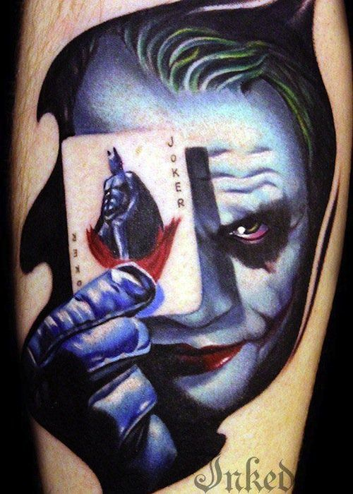 Tattoos of Famous Villains | Inked Magazine