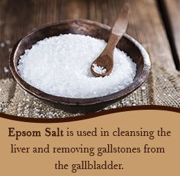 Epsom salt for cleansing