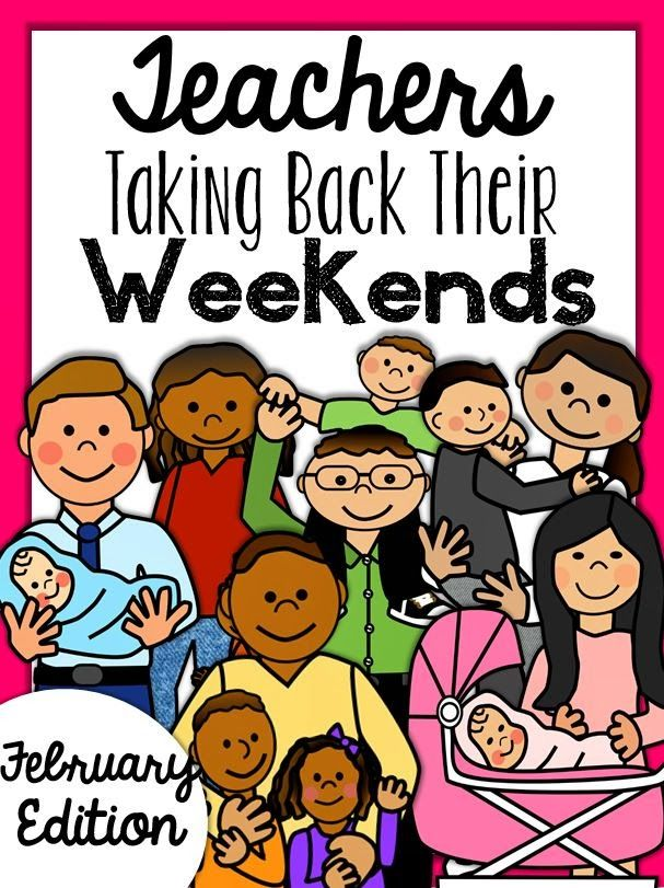 Take back your weekends!  Endless resources to get you through February!  Word work, math, content, easy print sub plan, and so much more!