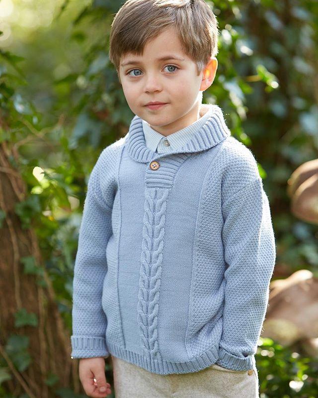 3baeecd49f3d Fancy boys sweater by Paz Rodriguez