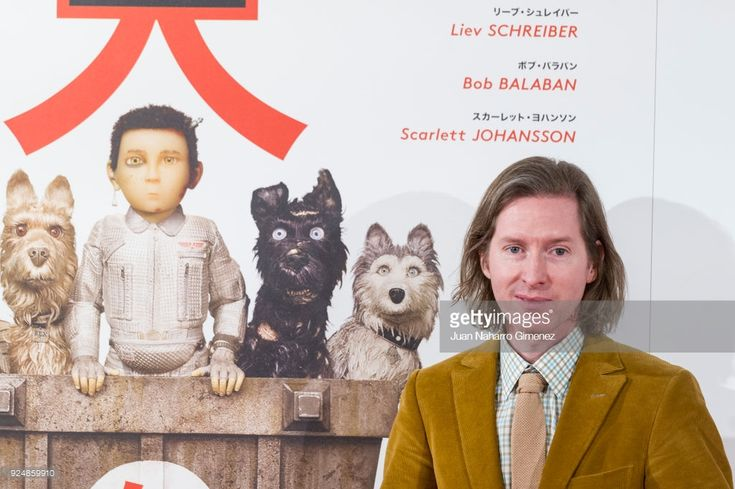 Wes Anderson attends 'Isla de Perros' photocall at Villa Magna Hotel on February 27, 2018 in Madrid, Spain.