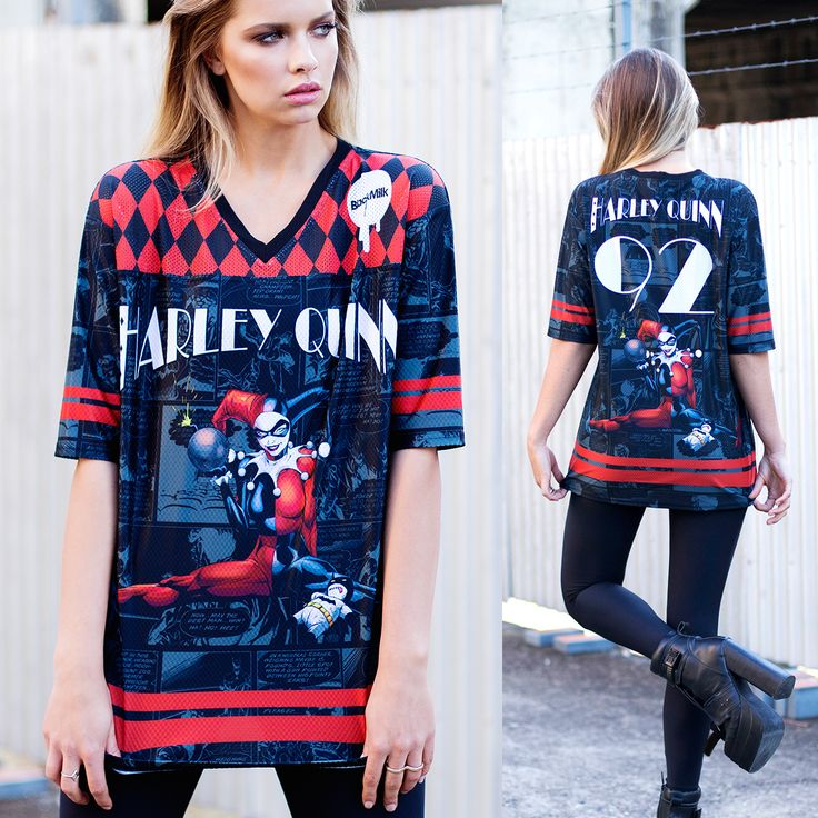 Harley Quinn Touchdown (WW ONLY $120AUD) by Black Milk Clothing