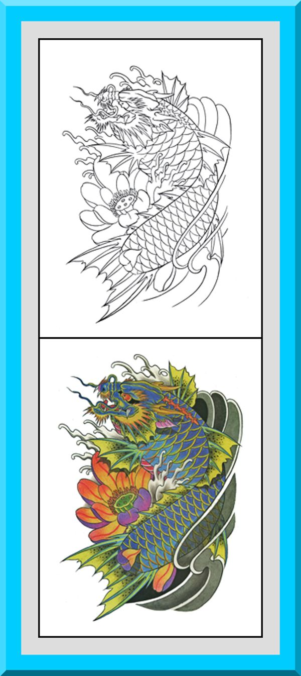 Free printable japanese coloring pages for adults - Japanese Coloring Book 30 Printable Coloring Pages Outlines Color Examples Instant Download Japanese Style Coloring Pages