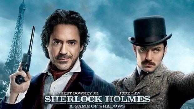"""Stasera in tv su Italia 1: """"Sherlock Holmes - Gioco di ombre"""" con Robert Downey Jr."""