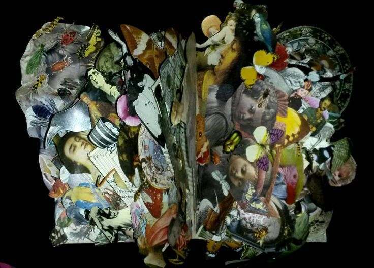 Dreamtime Carousel - an altered book by Keinwyn Shuttleworth