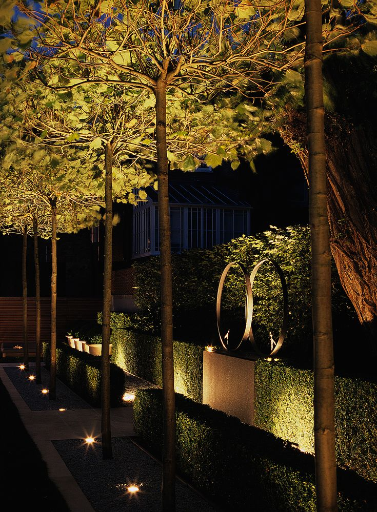 landscape lighting effects up lighting luciano giubbilei addison road - Landscape Lighting Design Ideas